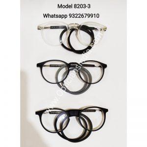 Round Shape Neck Hanging Magnetic Reading Glasses 8203 3
