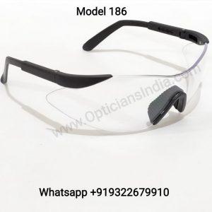 Max Viz Premium Multipurpose Wraparound Safety Glasses 186