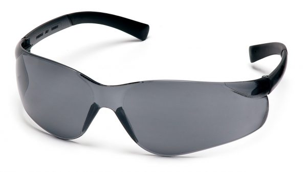 Pyramex Ztek S2520ST Gray H2X Anti-Fog Lens with Gray Temples Safety Glasses