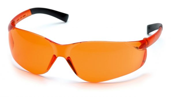 Pyramex Ztek S2540S Orange Lens with Orange Temples Safety Glasses