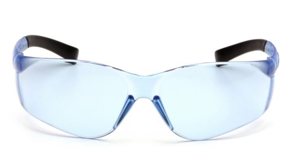Pyramex Ztek S2560ST Infinity Blue H2X Anti Fog Lens with Infinity Blue Temples Safety Glasses
