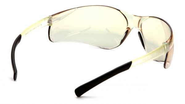 Pyramex Ztek S25ARCS IR Coated Lens with Black Temples Safety Glasses