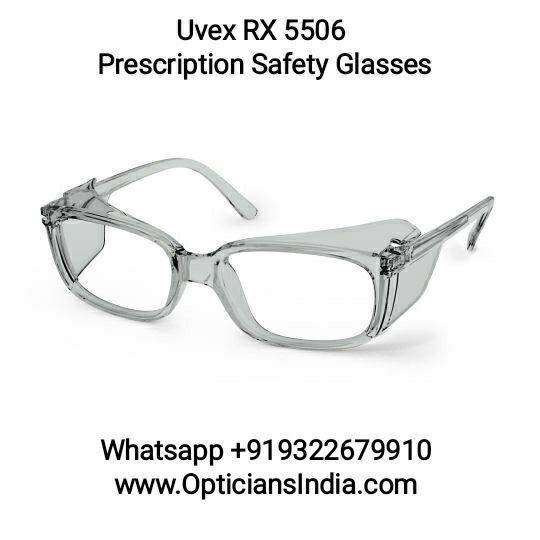 Uvex Prescription RX 5506 Light Gray Translucent Safety Glasses