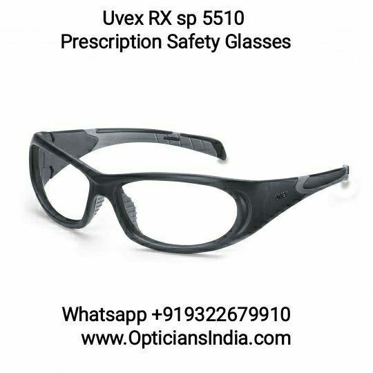 Uvex Prescription Safety Glasses RX5510 Grey