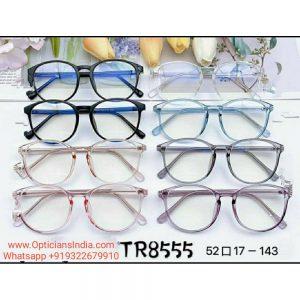 Unbreakable TR90 Frames Glasses with Anti Blue Light Lenses 8555