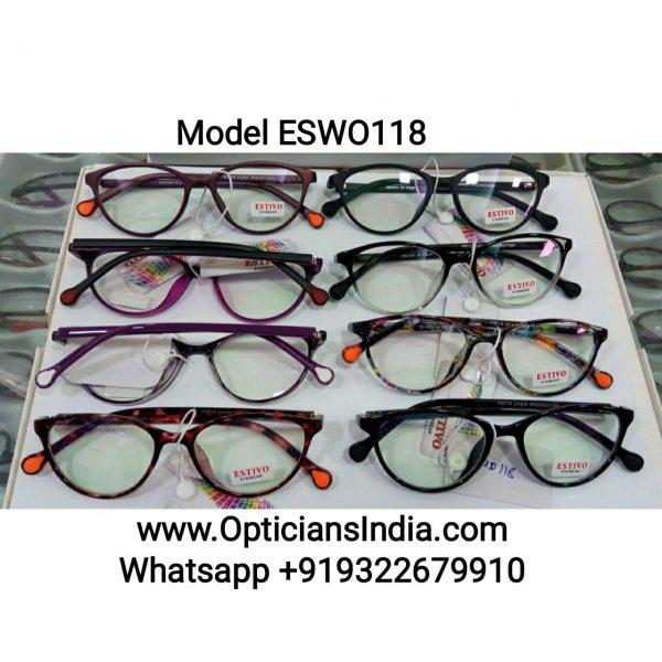 ES Series Plastic Specacle Frames Glasses ESW0118