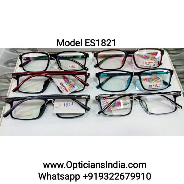 ES Series Plastic Specacle Frames Glasses ES1821