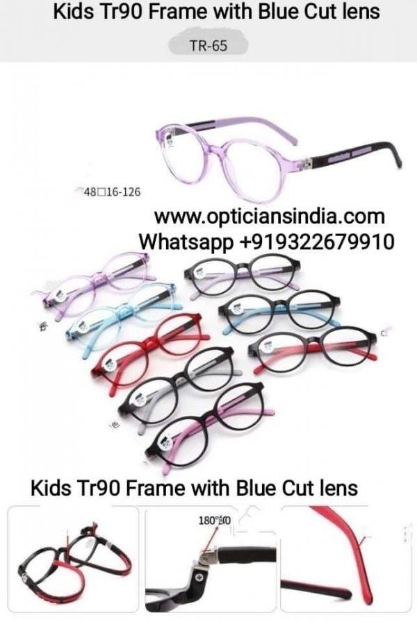 Kids Blue Block Computer Glasses TR65