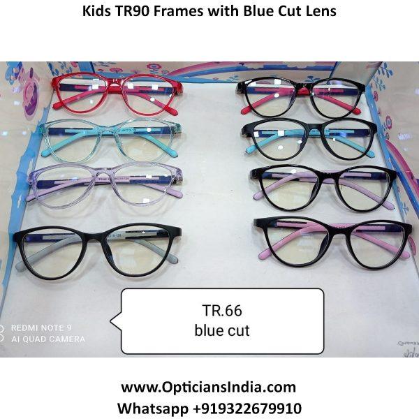 Kids Blue Block Computer GlassesTR66