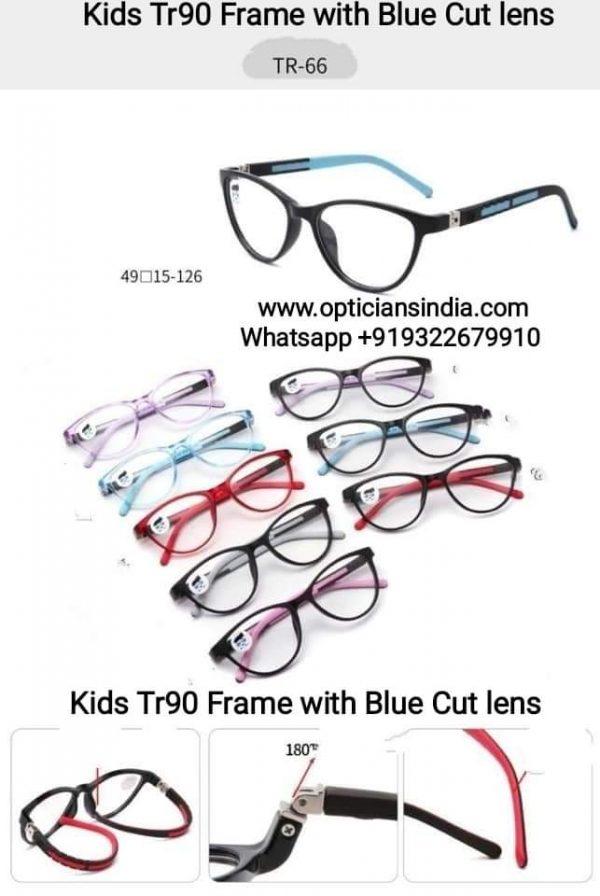 Kids Blue Block Computer Glasses TR66