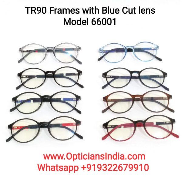 TR90 Frames with Blue Cut Lenses