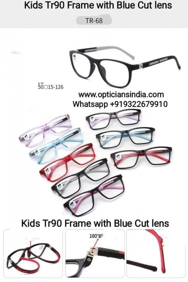 Kids Blue Block Computer Glasses TR68
