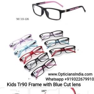 Kids Blue Block Computer Glasses TR69