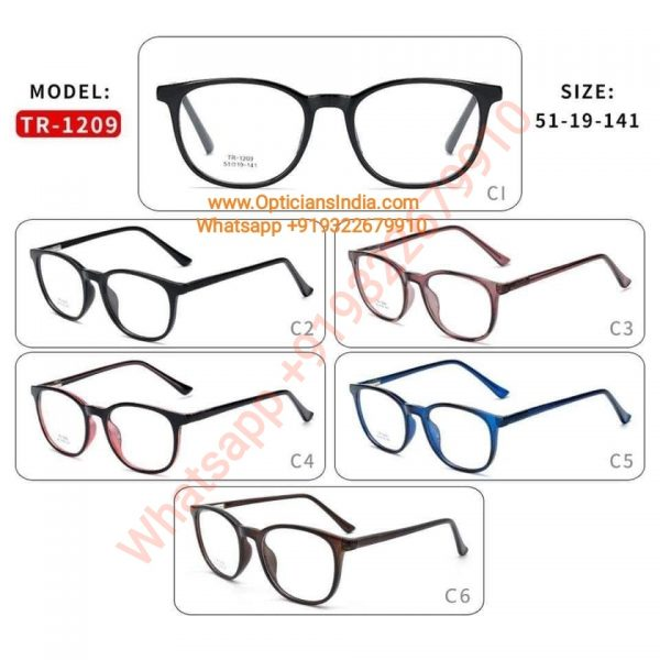 High Quality TR90 Frames Glasses TR1209