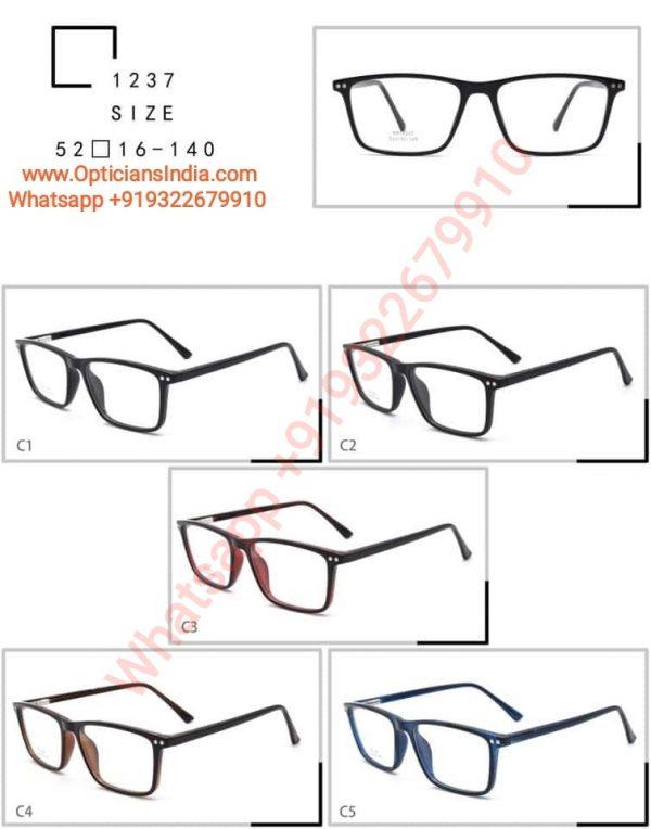 High Quality TR90 Frames Glasses TR1237