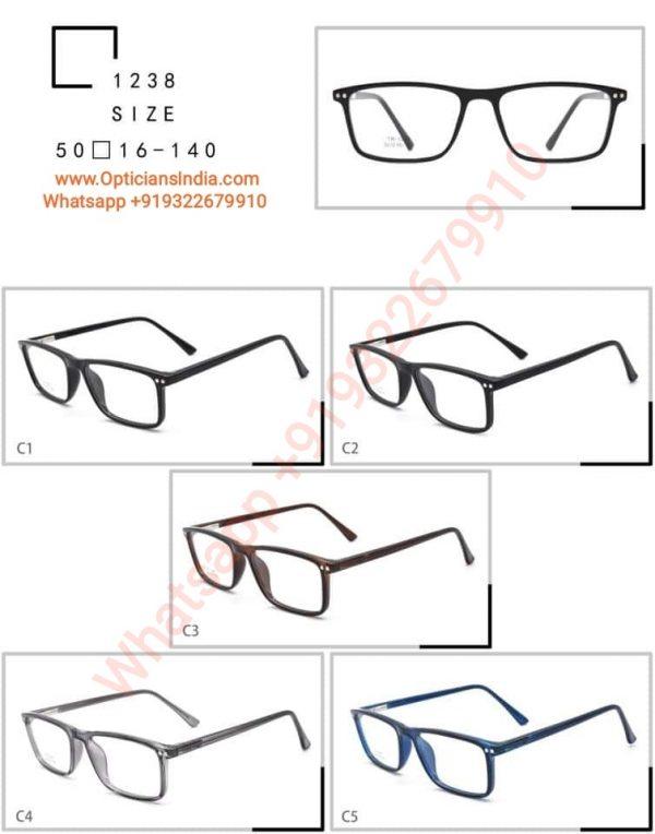 High Quality TR90 Frames Glasses TR1238