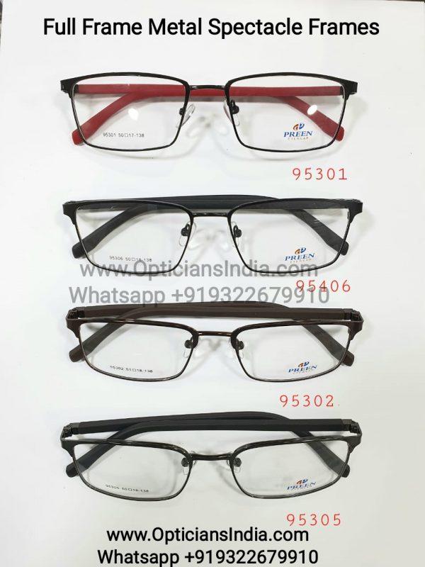 Wholesale Full Frame Metal Spectacle Frames