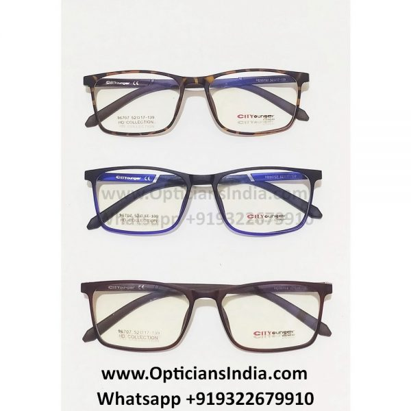 HD Thin TR90 Spectacle Frames Glasses HD96707