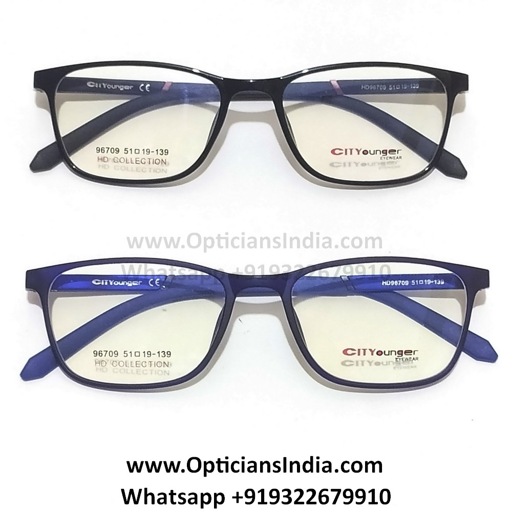 HD Thin TR90 Spectacle Frames Glasses HD96709