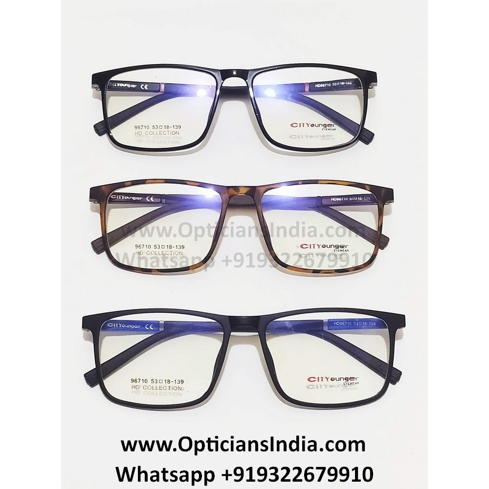 HD Thin TR90 Spectacle Frames Glasses HD96710