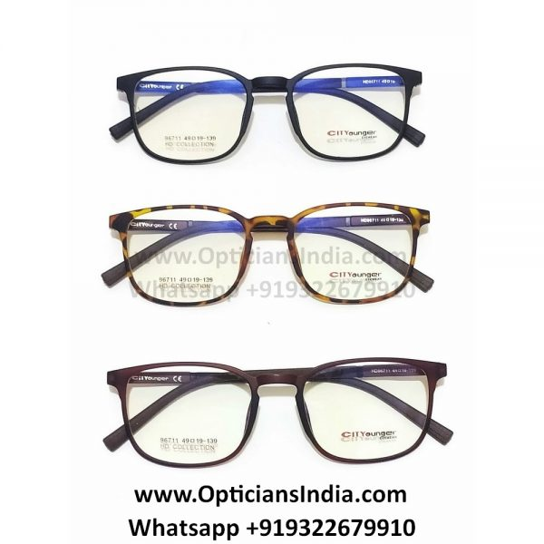 HD Slim TR90 Spectacle Frames Glasses HD96711