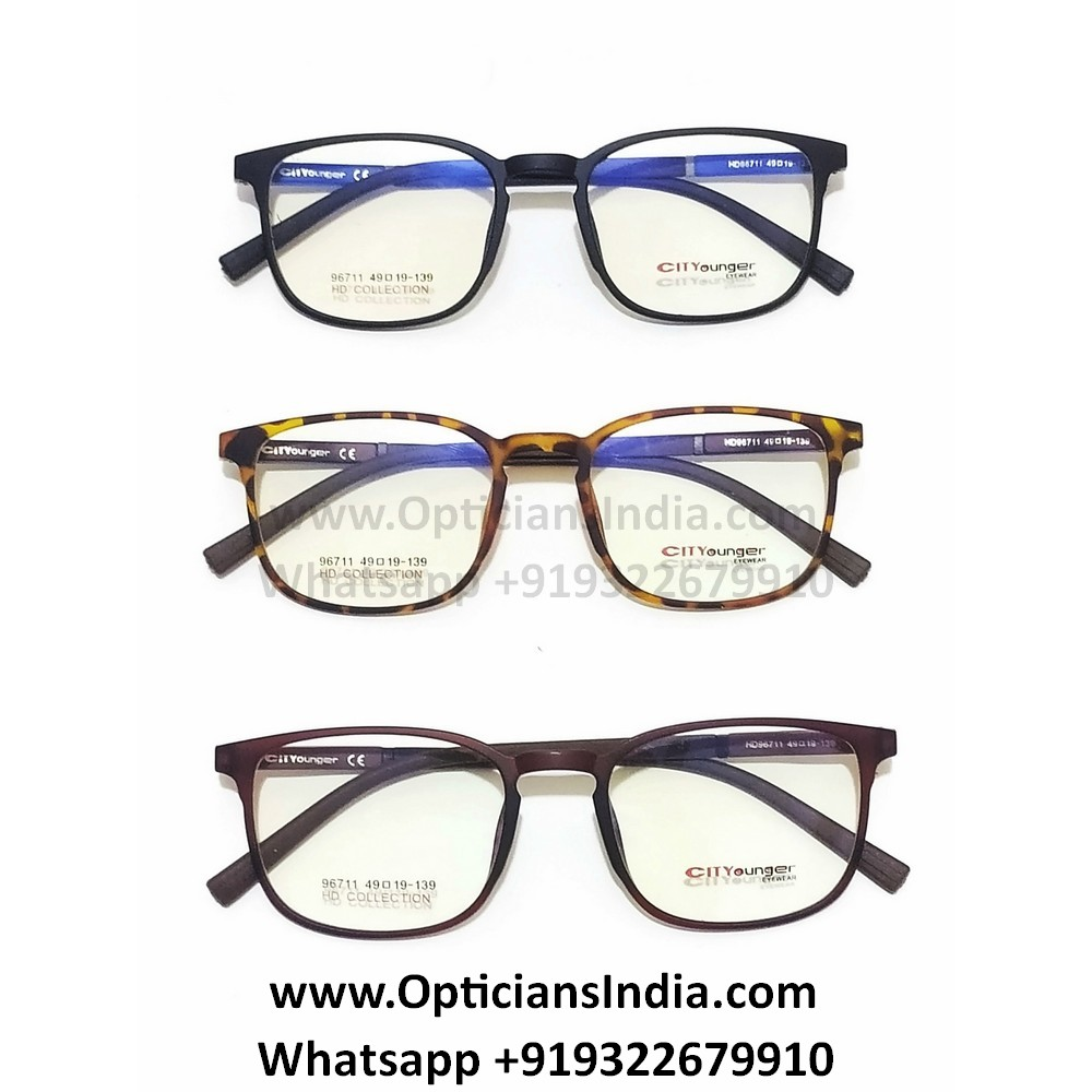 HD Thin TR90 Spectacle Frames Glasses HD96711