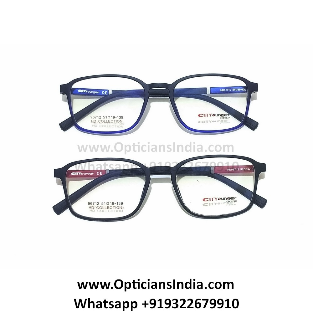 HD Thin TR90 Spectacle Frames Glasses HD96712