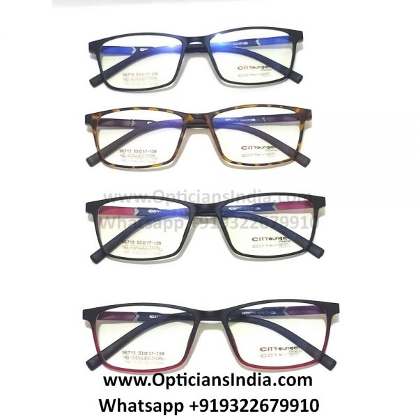 HD Slim TR90 Spectacle Frames Glasses HD96713