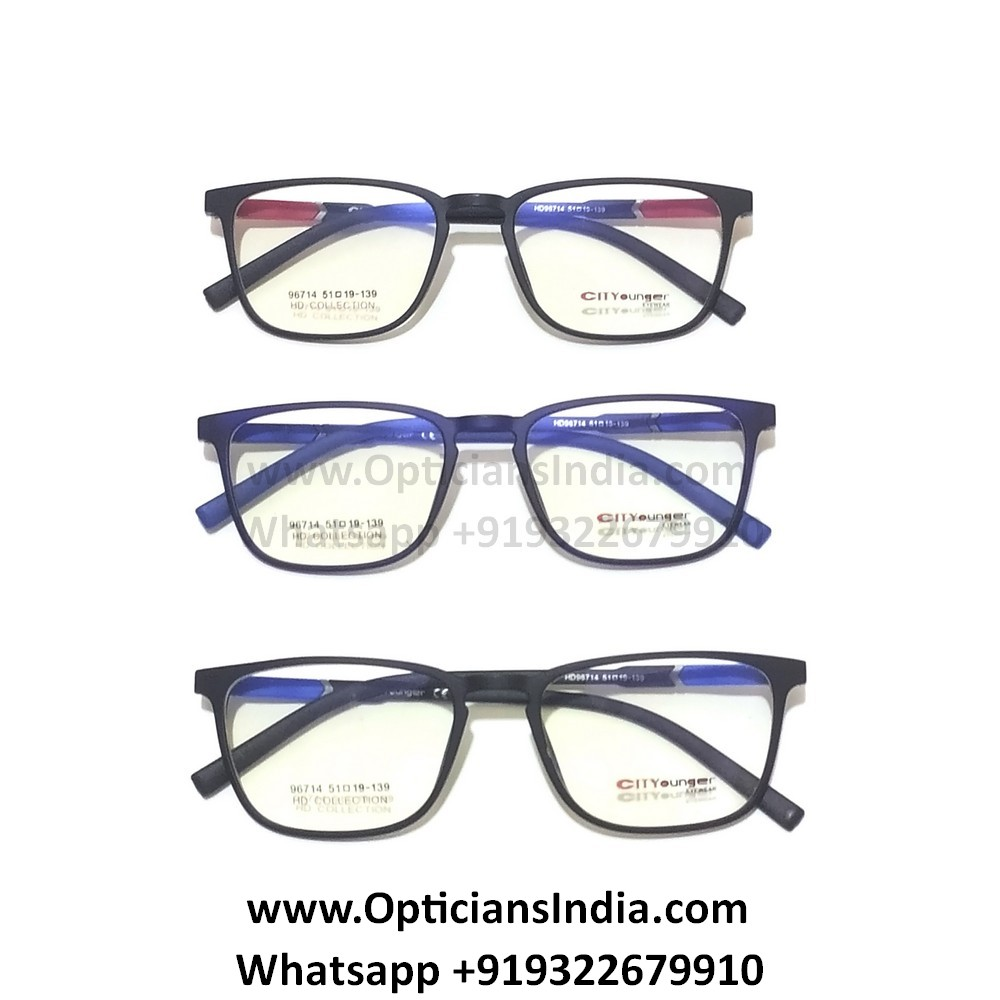 HD Thin TR90 Spectacle Frames Glasses HD96714