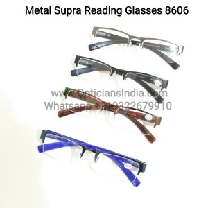 Metal Supra Reading Glasses 8606