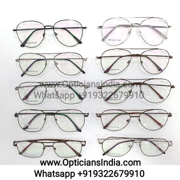 Bifocal Metal Full Frame Spectacle Frames Glasses