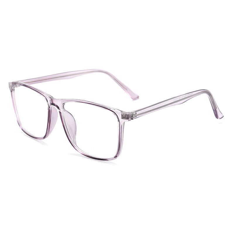 Transparent Purple Blue Light Glasses 8552