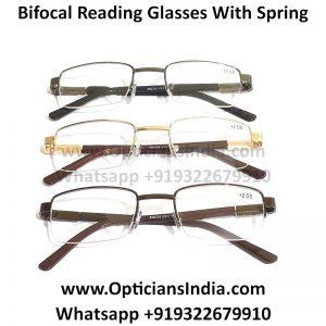Metal Supra Bifocal Reading Glasses
