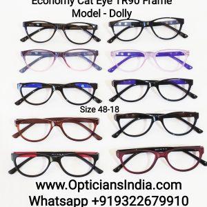 Economy Cat Eye TR90 Spectacle Frames Glasses