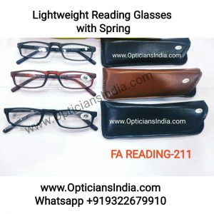 Lightweight Reading Glasses with Spring